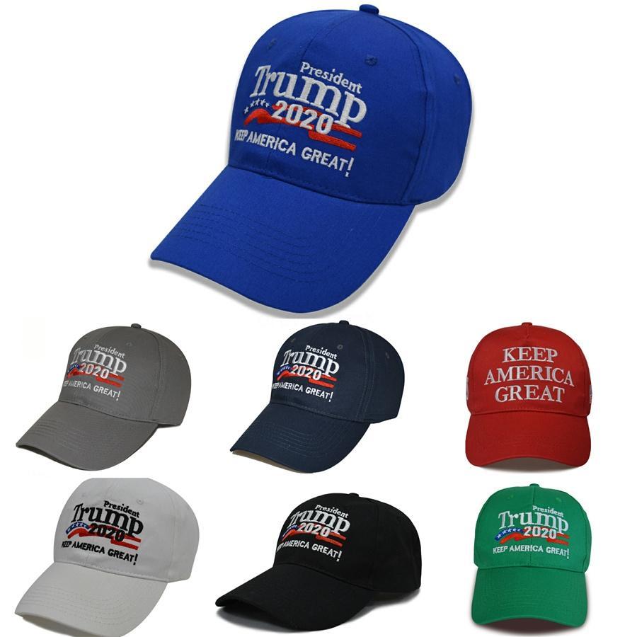 Yeni Stiller Kadınlar Trump 2020 Beyzbol şapkası Cumhurbaşkanlığı Trump Şapka Amerika Büyük Seçim Kampanyası Hat 300 1PCS T1I1984 # 528 tutulması