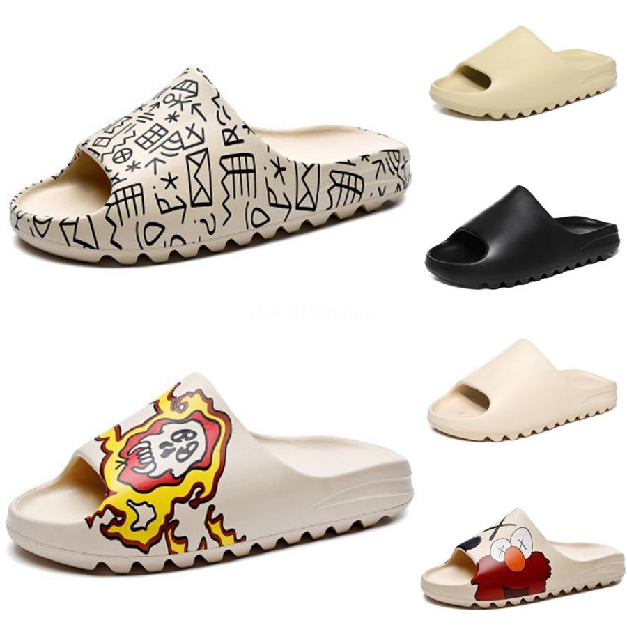 Atacado Tamanho 35-42 New Mulheres Homens Sandal Plano Heel Sandalias Femininas Verão Casual Sapatos única mulher suave inferior Chinelos Sandálias # 644
