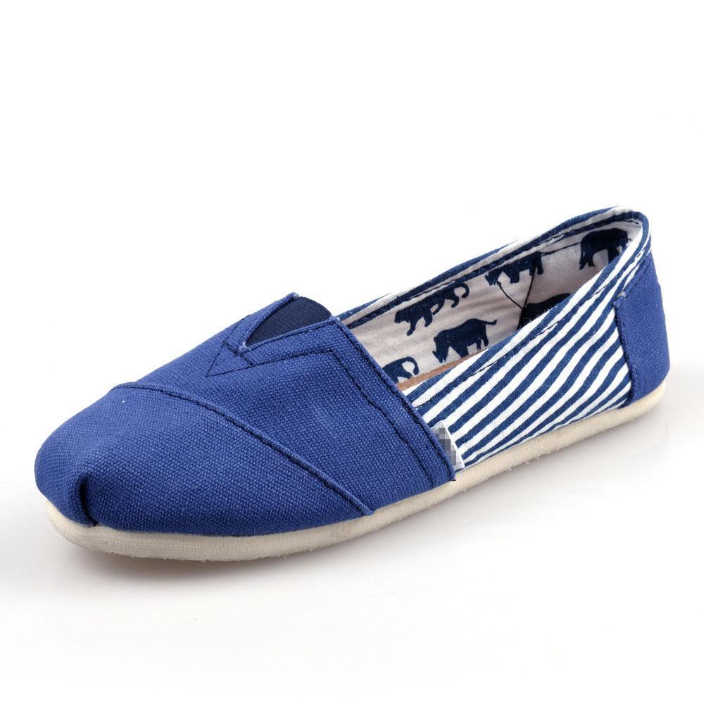 Hot Sale-mode 30 couleurs Marque Hommes et femmes classique casual toile chaussures plates grande pointure