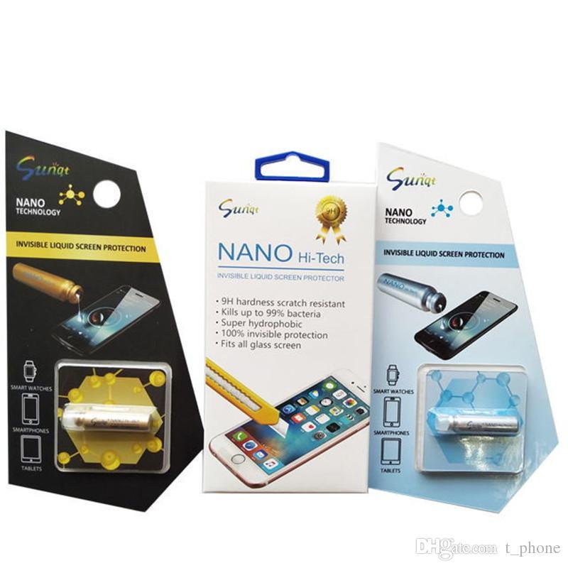 Универсальный NANO Liquid Screen Protector пленка для iPhone XS Max X Invisible технологии закаленное стекло для Samsung Galaxy S8 S9 S10 +