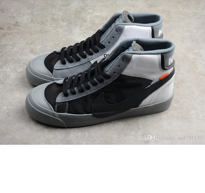 offWhitex Blazer calçados casuais 1977 Vintage WE clássico Running Shoes Homens Mulheres Walking Jogging Blazer 2.0 Esporte Sneakers A1