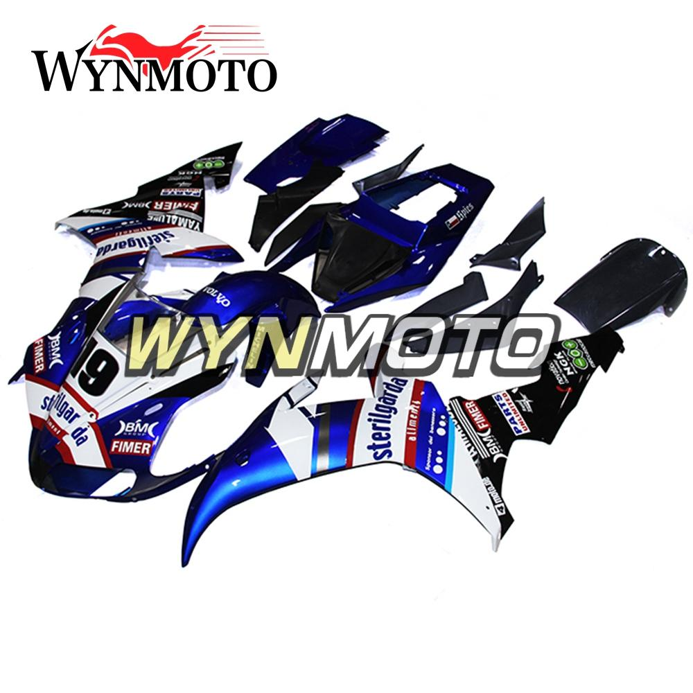 Fairings For Yamaha YZF1000 R1 2002 2003 02 03 ABS Plastics Injection Blue White Covers Motorbike Panels YZF R1 02 03 Hulls Body Frames