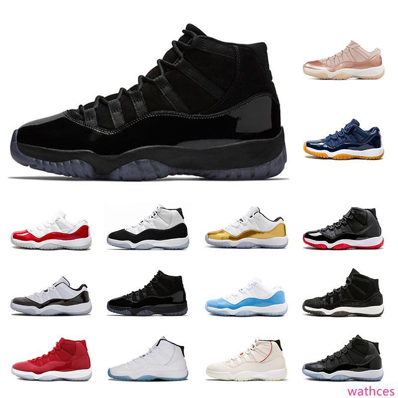 2020 Классических Оригинальный 11s Баскетбол обуви дышащие 11 кроссовок Cap и платье Concord High 45 Sports кроссовок мужских тренеры