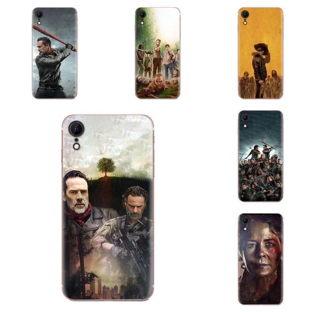 Personalizado Para Galaxy J1 J2 J3 J330 J4 J5 J6 J7 J730 J8 2015 2016 2017 2018 Mini Pro TPU Shell móvel The Walking Dead