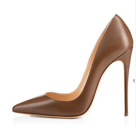 حار بيع-المرأة السوداء عارية براءات مدبب تو المرأة مضخات 8،10،12 سنتيمتر موضة أحمر أسفل أحذية عالية الكعب أحذية للنساء الزفاف