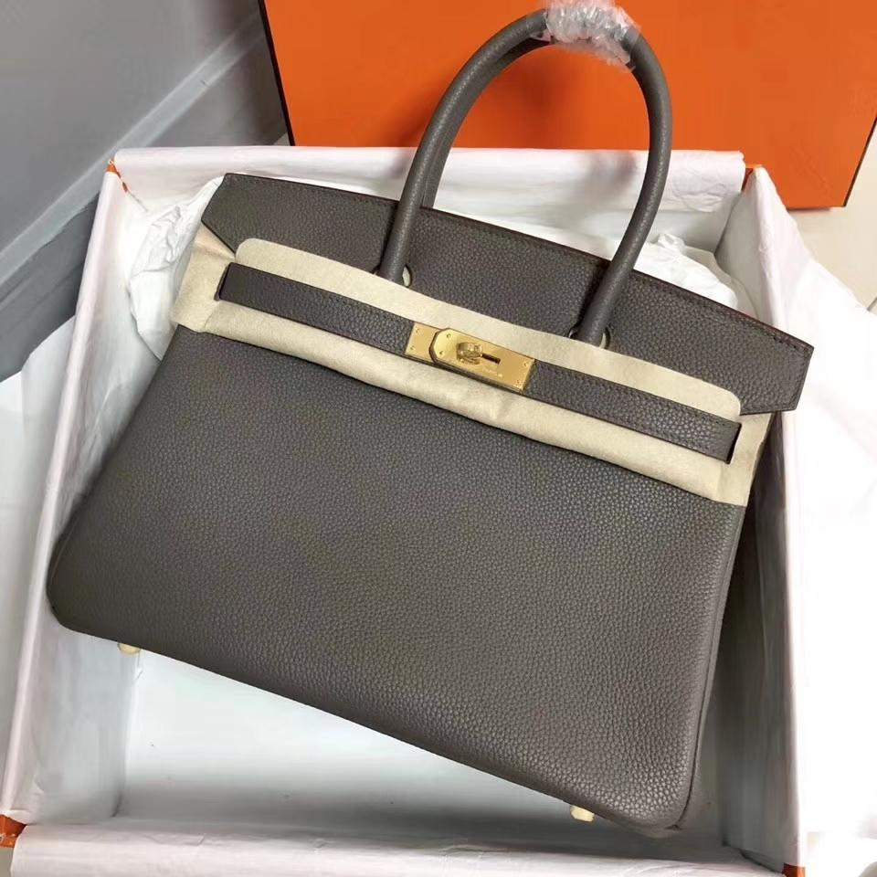 Togo cilt 30cm, lüks torba, tasarım çanta, cüzdan, sahip 2 boy, hızlı teslimat ile toptan En kaliteli gri çanta