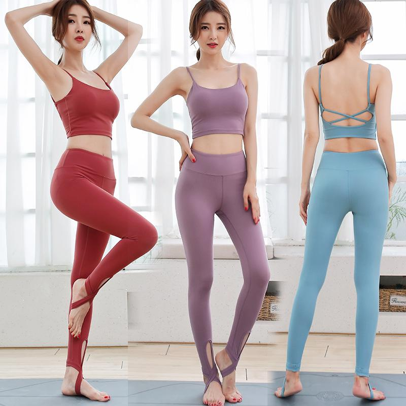2020 Women S Clothing Set Plus Size Yoga Suit Sports Bra High Waist Tight Yoga Pants Sets Running Suit Womens Designer Tracksuit From Mj Covenant 31 66 Dhgate Com