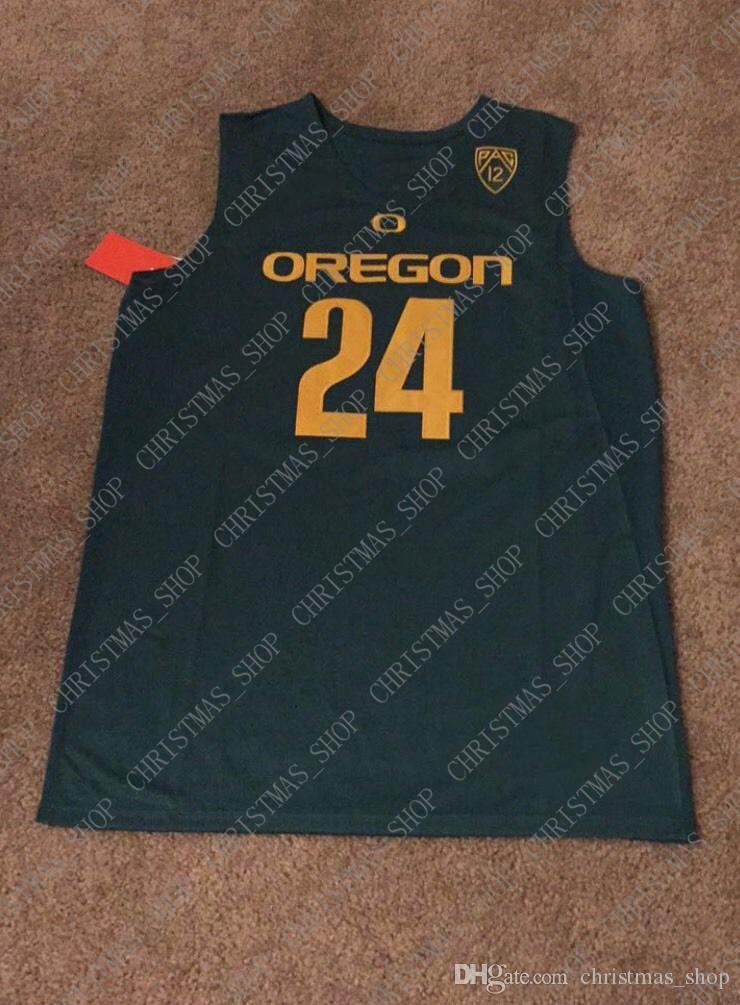 Günstige benutzerdefinierte Dillon Brooks Oregon Ducks NCAA Basketball Jersey Stich fertigen jede Zahl Name MEN WOMEN JUGEND XS-5XL