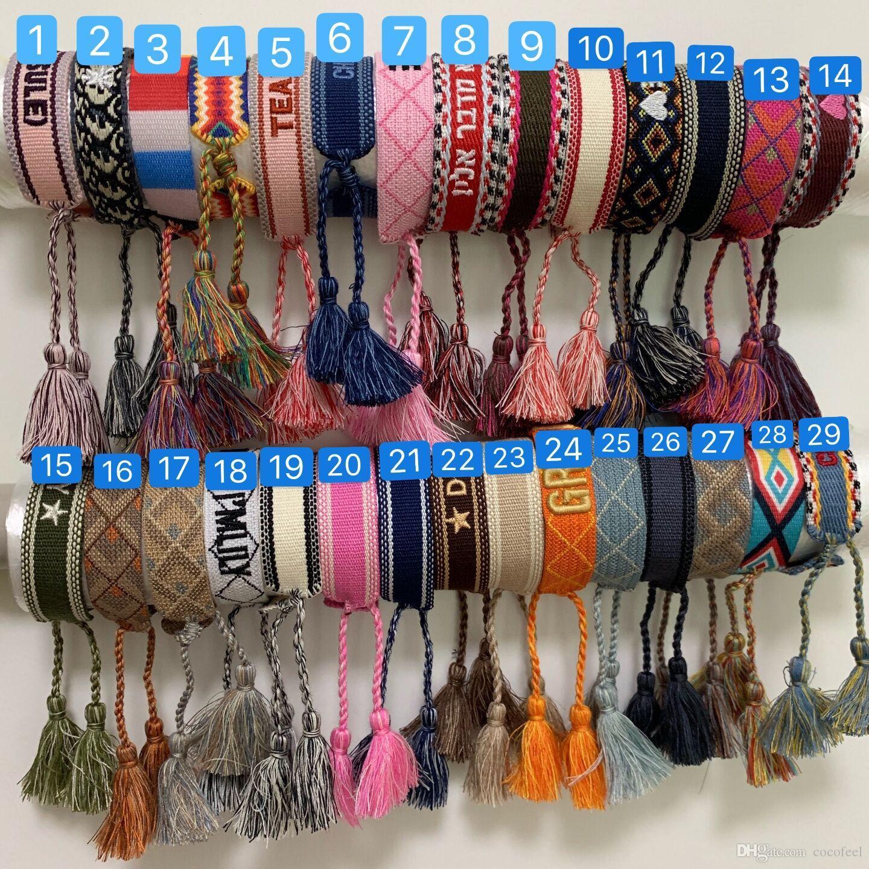 Dib1 модный бренд JA плетеный ручной ремень ручной веревка браслет свадебные любовники подарок роскошные украшения