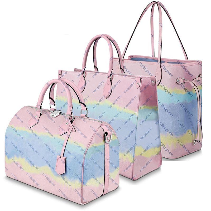 Кошелек сумочка из кожи мода женская сумка сумки цветок женщины надвечивает градиентные цветные сумки кошельки