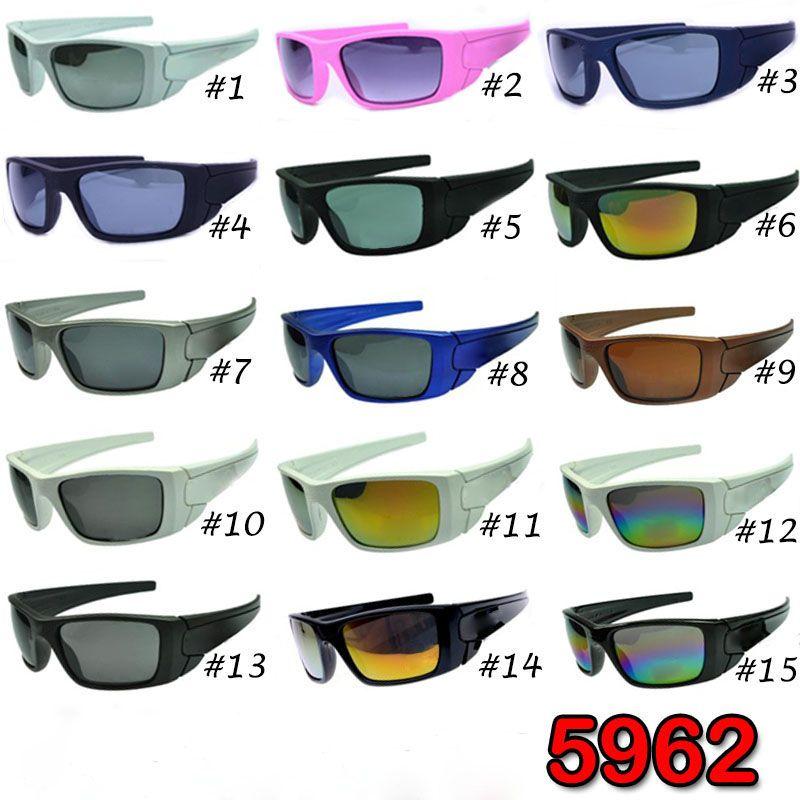 أزياء العلامة التجارية النظارات الشمسية تريند كبير الإطار مصمم النظارات الشمسية الرجال النساء ركوب الدراجات الرياضة في الهواء الطلق نظارات شمسية نظارات شمسية 15 الألوان