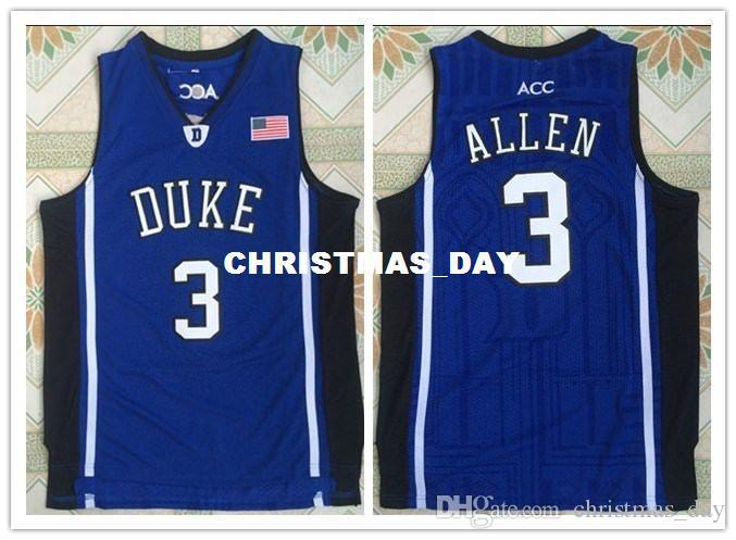 cheap Blue Devils #3 Grayson Allen Basketball Jersey Stitched MEN S-XXL
