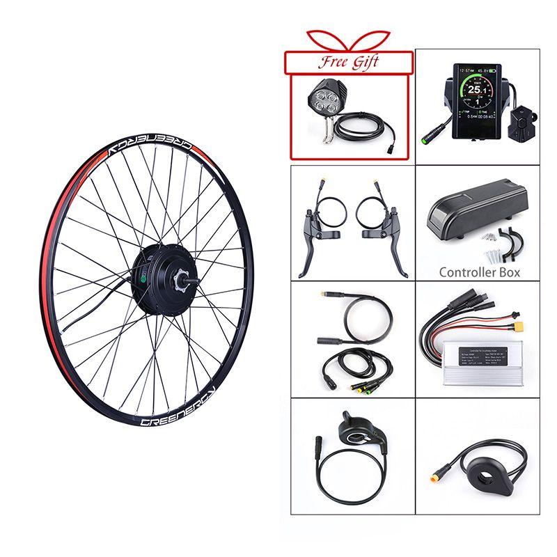 Bafang 36V 250W Ebike Rear Hub Motor 20/26/27.5/700C inch Freewheel Electric Bike Conversion Kit Bicycle Brushless Gear Motor