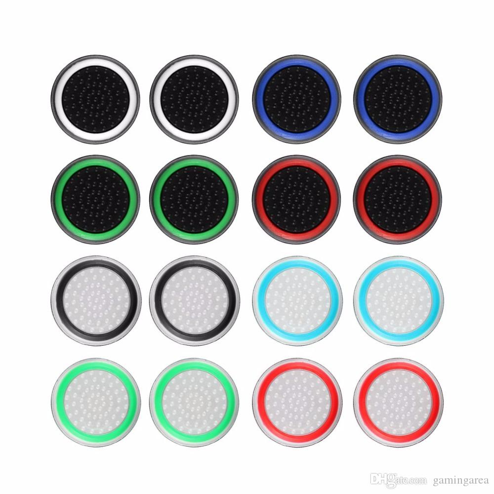 Non-slip Silicone Analog Joystick Thumbstick Thumb Stick Grip Cap Case for PS3 PS4 Xbox 360 Xbox One Controller Protect Cover FREE SHIPPING