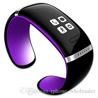 ساعة يد ذكية L12S OLED Bluetooth Smart Watch Anti Lost Remind Pedometer Fitness Tracker Smart Backer for IOS Android Phone
