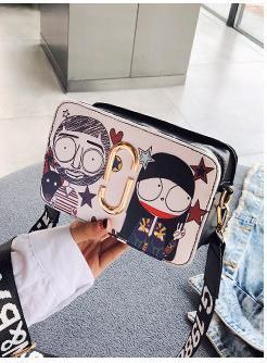 Designer Bag Feminino 2020 Chegada Nova Onda All-jogo Crossbody Broadband personalizado Ombro Casual Bag