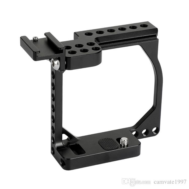 CAMVATE Compact Camera Cage Rig With Shoe Mount Adapter For Sony & Canon EOS M / M10 Item Code: C2126