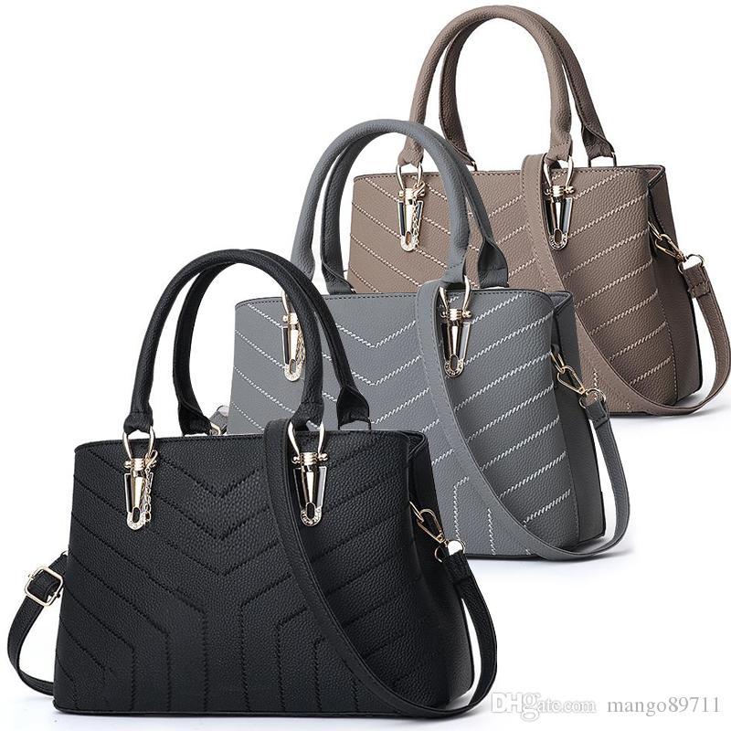المحافظ حقائب أزياء المرأة حقائب يد حقيبة محفظة بو الجلود الكتف حقيبة كبيرة حمل حقيبة crossbodybags