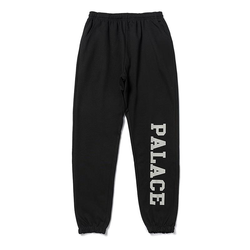 Pamuk Erkek pantolonları Düz Pantolon gündelik spor Yansıtıcı Tam Boy Streetwear erkek pantolon eşofman High Street