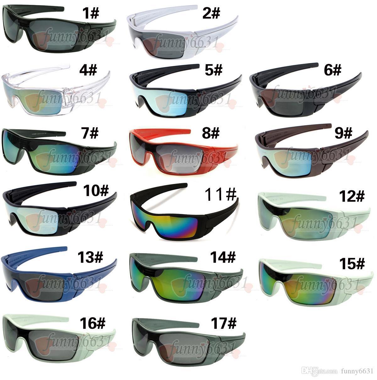 estate marchio nuovissimi uomini moda equitazione occhiali sportivi donne guida occhiali Ciclismo Sport all'aria aperta Occhiali da sole 17 colori spedizione gratuita