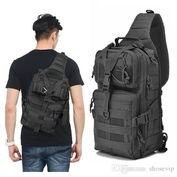 Military Tactical Assault Pack Sling Backpack Army Waterproof EDC Rucksack Bag for Outdoor Hiking Camping Hunting trekking travelling