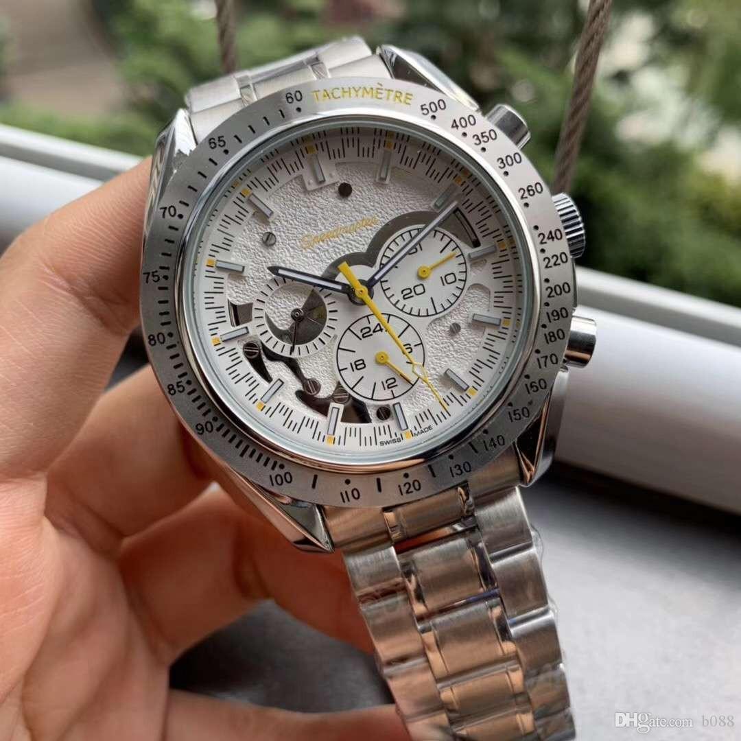 Kalite Otomatik Mekanik Erkekler İzle 316 Paslanmaz Çelik Kayış Erkek Lüks izle Tasarımcı Moda Marka İzle Erkekler Otomatik saatler
