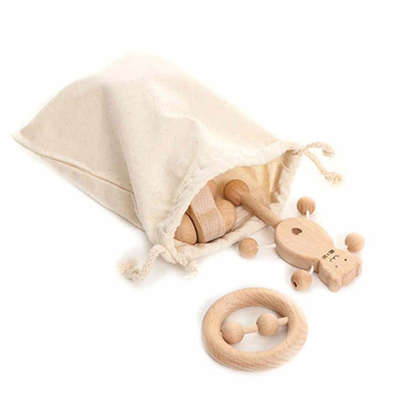 어린이 장난감 세트 간호 나무 Teether 딸랑이 아기 재미와 재미있는 장난감 완구 지적 발달 퍼즐
