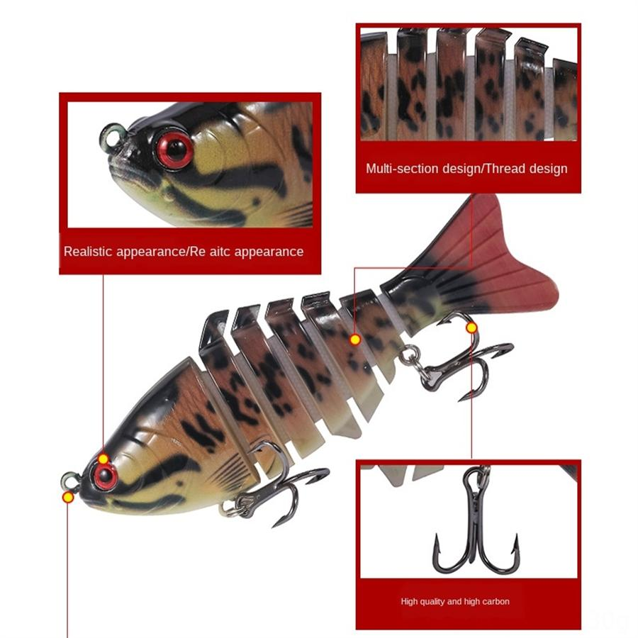 tUgYf Fishing Lures Topwater Kit Set ,Swimbait Minnow VIB Lure 9.3CM Crankbait Fishing 8.2Gfor Saltwater Freshwater Bass Trout Walleye Sal