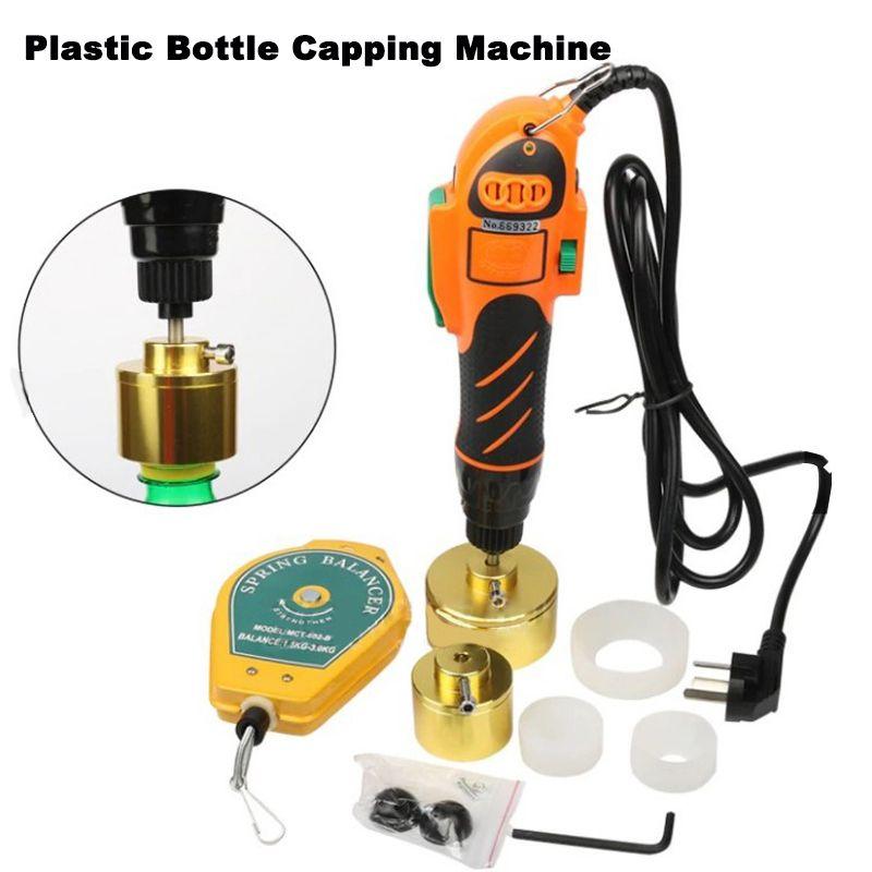 Manuelle bedeckende Maschine Hand Elektro Sealing Flaschendeckel Tightener Für Schraubdeckel Plastikflasche Screw Capper