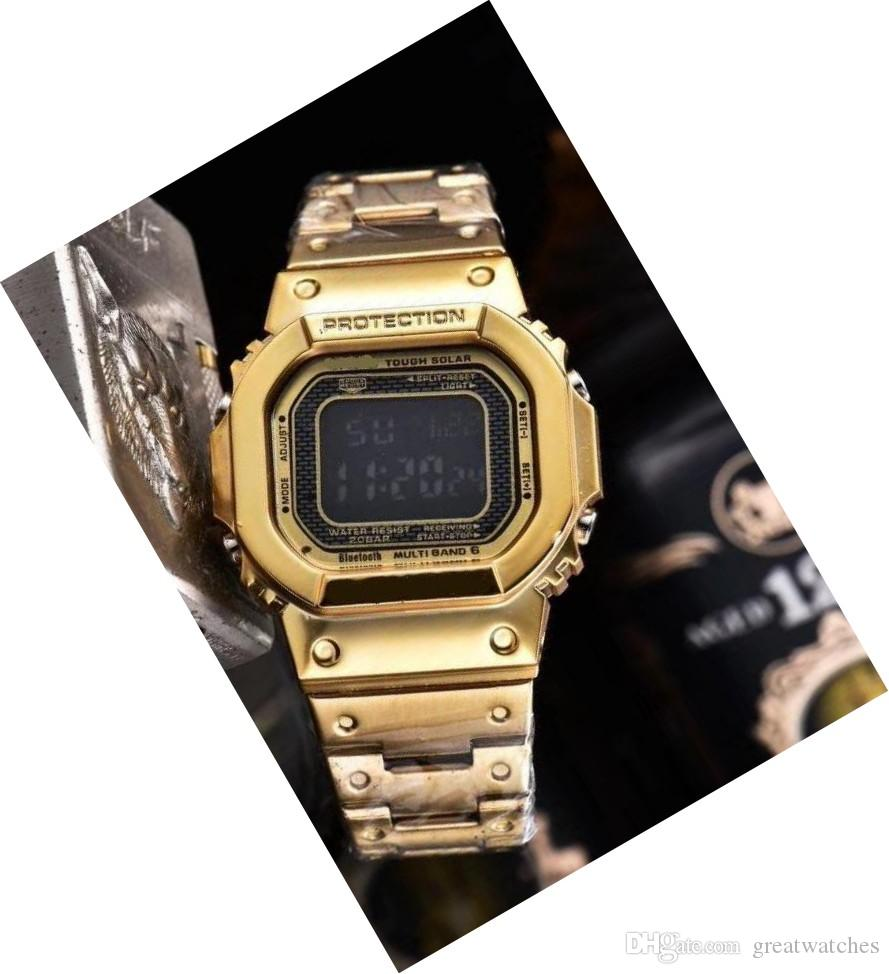 Hot new style relogio men's sports watches LED chronograph digital watches military watch digital watch men & boy gift