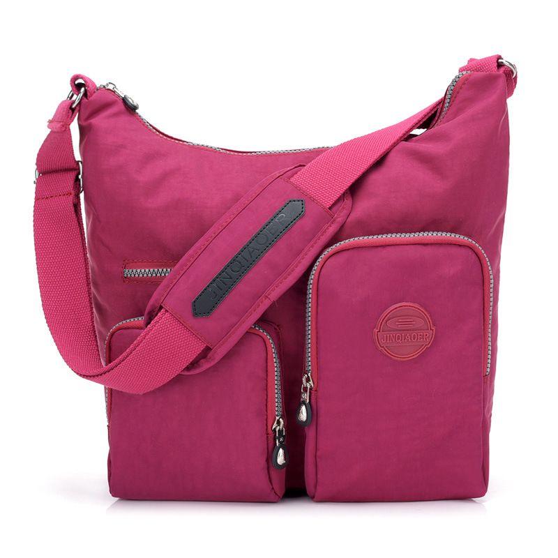 7e64a77425bc Hot Nylon Multi-Pocket Crossbody Bag NeatPack Crossbody Bag for Women with Anti  Theft RFID Pocket