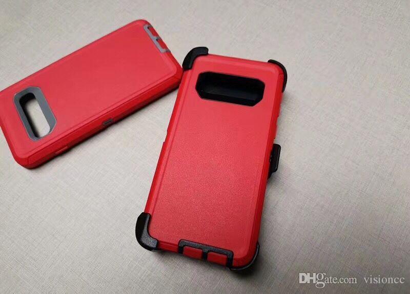Defneder Symmetry For Apple s10 s8 s9 s9 for iphone8 8 Plus S8 Plus iphoneX xsmax 스틸 갑옷 TPU PC 커버 케이스 S