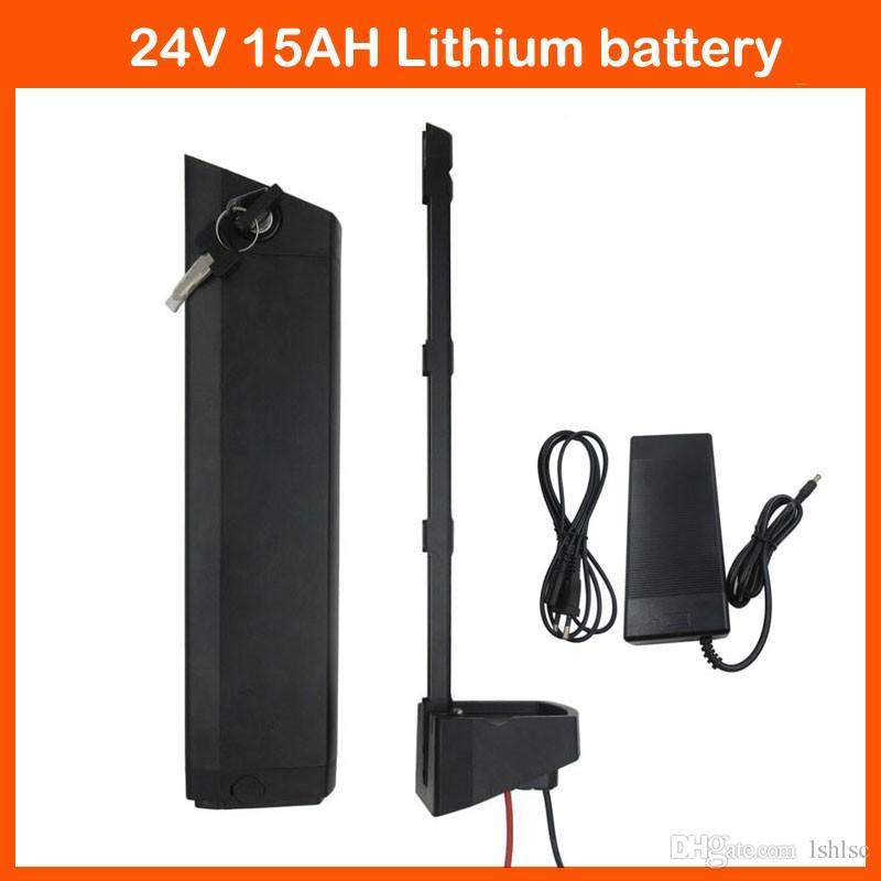 24 V 350W литиевая батарея 24V 15AH велосипед батареи 24V электрический велосипед батареи для Samsung cell с BMS 29.4 V 2a зарядное устройство