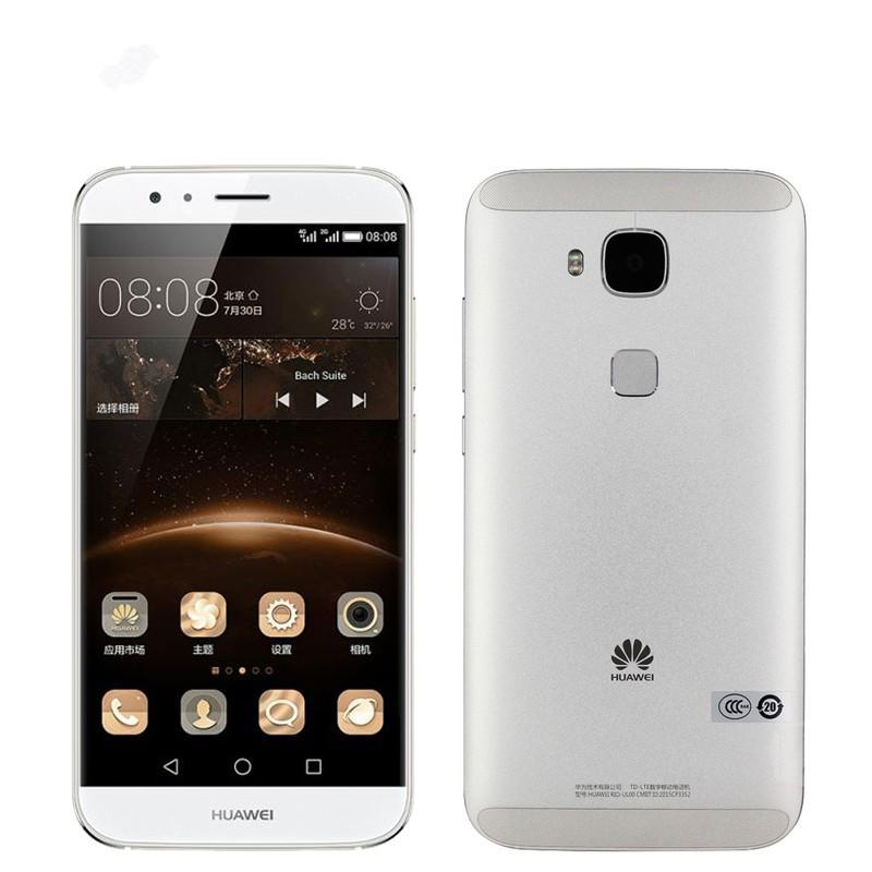 Original Huawei G7 Plus 4G LTE Cell Phone Snapdragon 615 Octa Core 2GB RAM 16GB ROM Android 5.5 inch 13MP Fingerprint ID Smart Mobile Phone