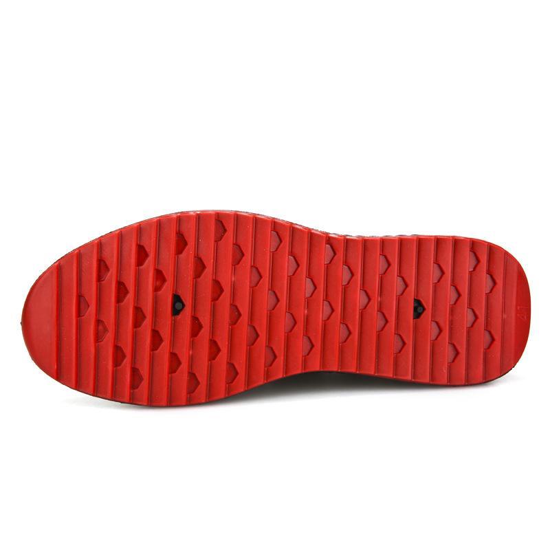 Leosoxs Zapatos de hombre de moda casual hombre cómodo respirable de los zapatos de algodón tela con cordones resistentes al desgaste
