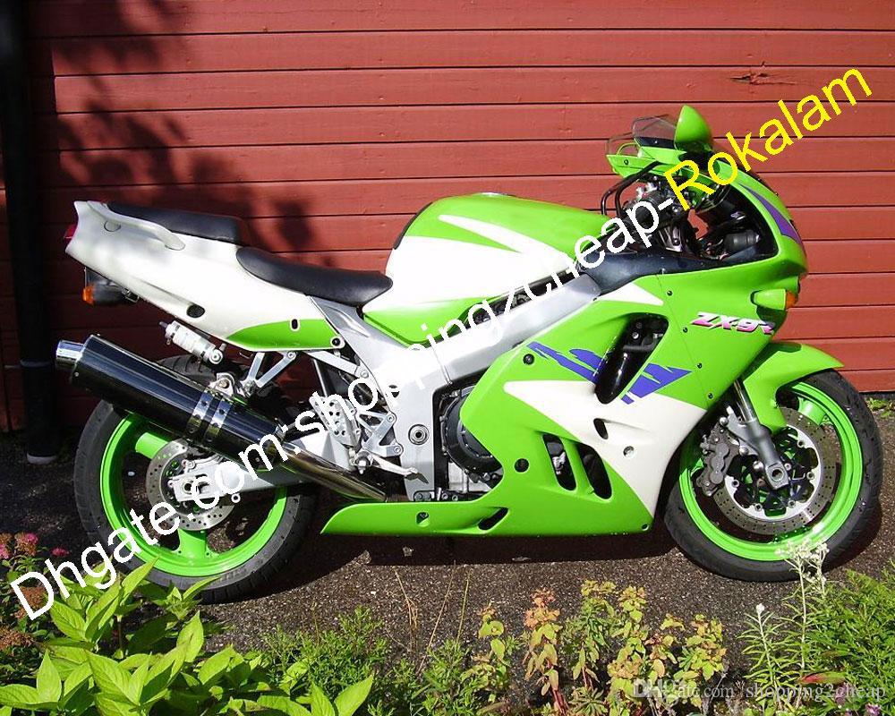 Pour Kawasaki Carénage NINJA ZX9R 94 95 96 97 ZX9R 1994 1995 1996 1997 ZX 9R 9 R personnalisé Carrosserie moto multi-couleur