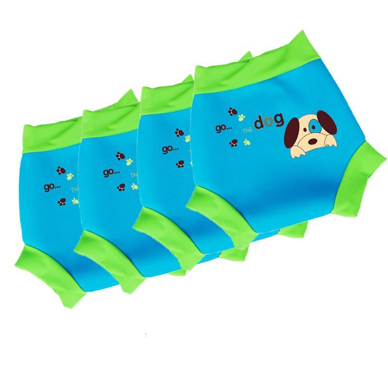 Mutlu Yüzmek Bebek Kullanımlık Yüzmek Bezi Bebek Mayo Çocuklar Yüzmek Bezi Bebek Yüzme Havuzu DiaperMX190910