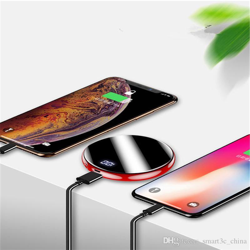 2019 NEW ультратонкий 20000mAh Power Bank зарядное устройство портативный экран зеркало большой емкости USB PowerBank зарядные устройства для Samsung iPhone