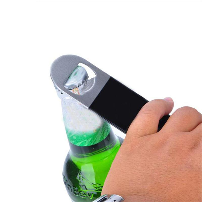 Stainless Steel Beer Bottle Opener Blade Remover Speed Durable Flat Beer Can Opener Remover Bar Blade Kitchen Tool