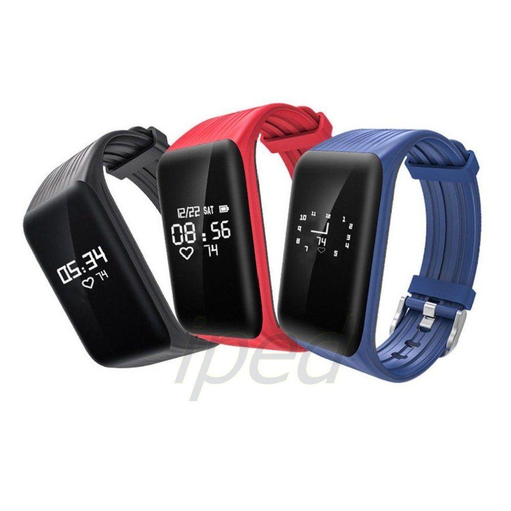 Fitness Tracker K1 Smart Uhr Echtzeit Pulsmesser Sport Smart Armband Wasserdichte Armband Anruf Erinnerung Für iPhone Android