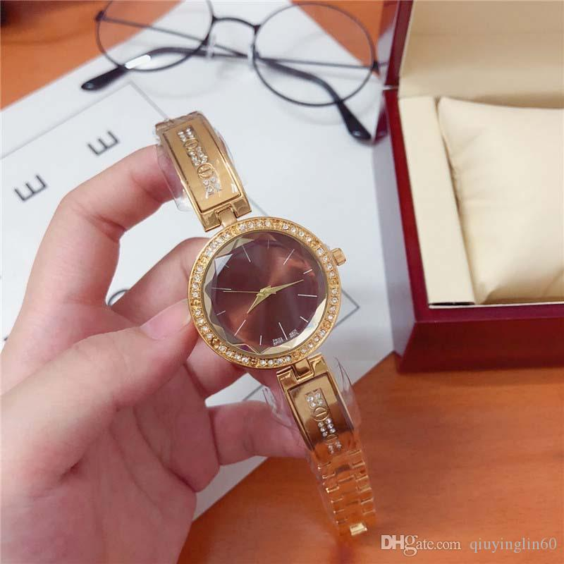 Women's Watch Crystal Dial Quartz Watch Best Gift Fashion Match Table Personality Style Women & # 039; S romantic watch