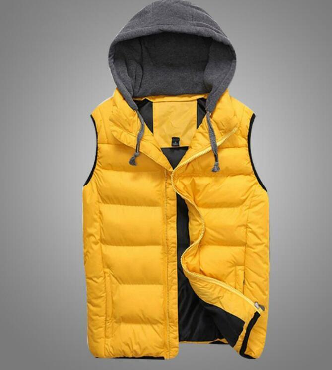 Top Qualität Designer Westen für Mens Marke Daunenweste mit Buchstaben Klassischen Herren-Jacken Freizeit Westen Mantel 3 Farben M-4XL Optional