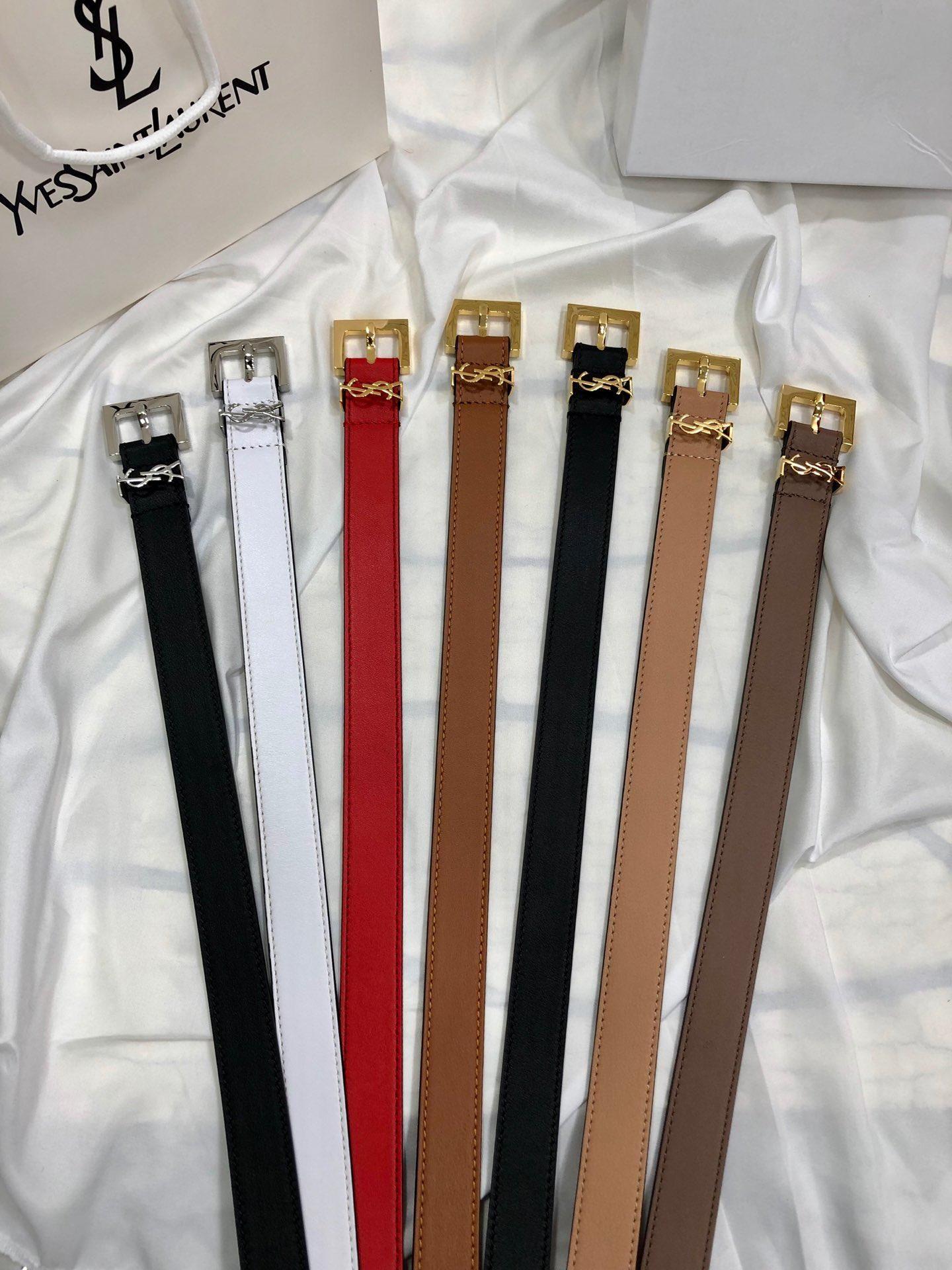تشمل صندوق أصلي 2020 أحزمة تصميم الرجال والنساء موضة الحزام جلد طبيعي Luxry حزام العلامة التجارية الخصر حزام الذهب الأسود فضة S3