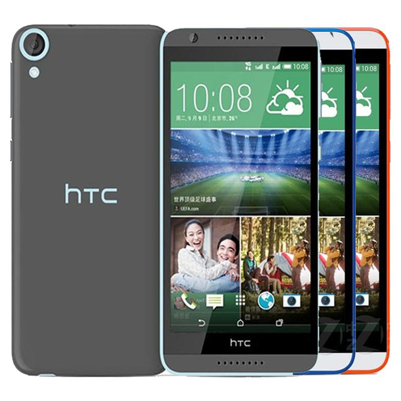 Refurbished Original HTC Desire 820 Dual SIM 5.5 inch Octa Core 2GB RAM 16GB ROM 13MP 4G LTE Unlocked Android Cell Phone Free DHL 1pcs