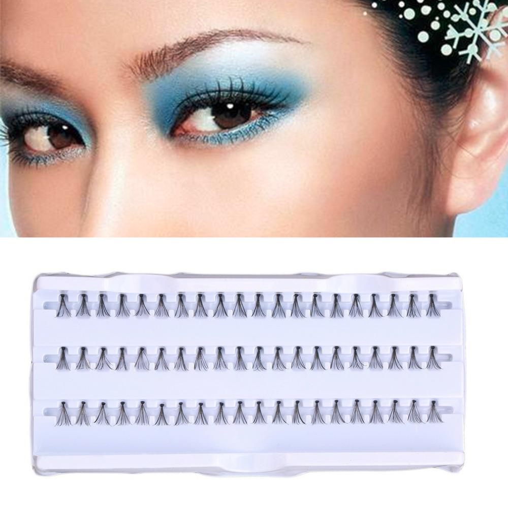 60pcs/Set 8 mm Individual Lashe Black Natural Fake False Eyelash Long Cluster Extension Makeup Beauty Health Wholesale