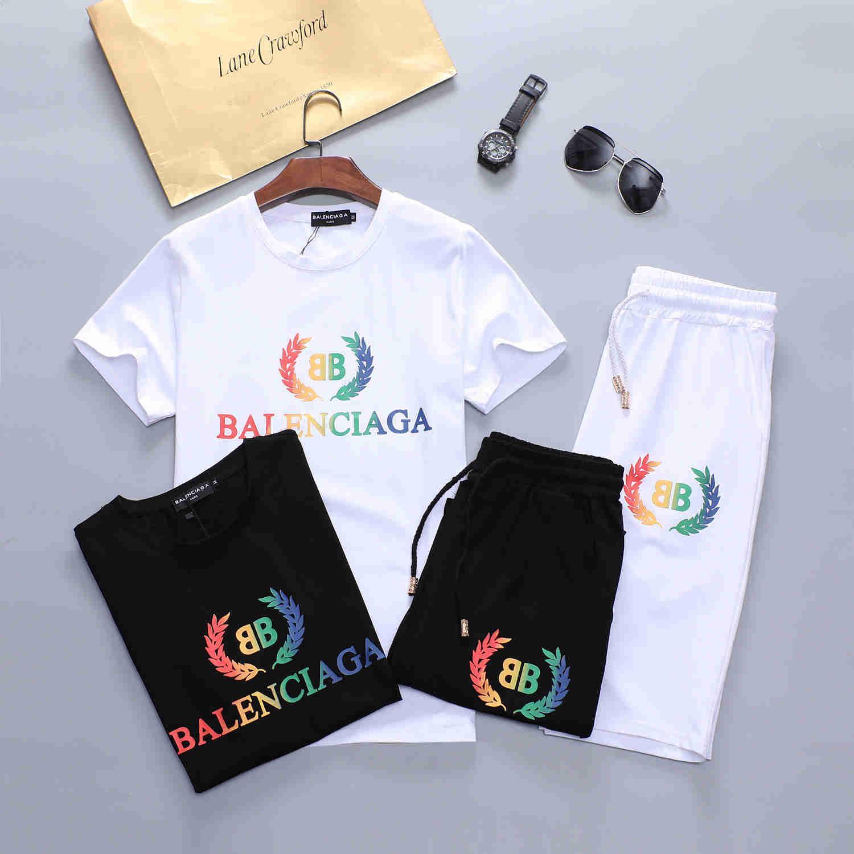 moda esportiva zíper dos homens europeus de designer adequar impressão ocasional terno e calças dos homens Medusa sportswear com capuz 2 PCS