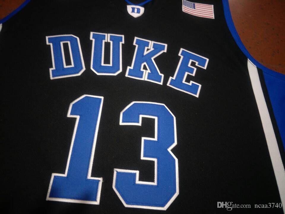 mulheres costume Homens Jovens Duke Vintage Blue Devils Joey Baker # 13 College Basketball Jersey tamanho S-4XL ou personalizado qualquer nome ou número de camisa