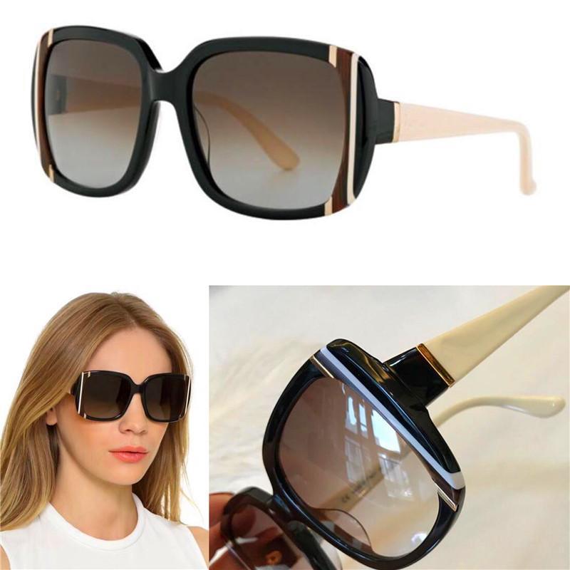Luxury-New fashion wholesale designer sunglasses 672 square frame top quality simple elegant summer style uv 400 protection women eyewear