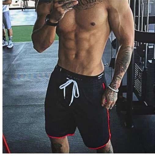 Pantaloncini da uomo estate di marca pantaloncini fitness di lunghezza del corpo bodybuilding solido casual jogging allenamento crossfit palestre shorts pantaloni sportivi