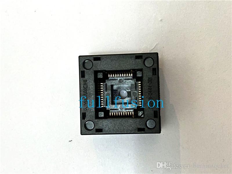 IC248-0444-001 QFP44 0.8mm Pitch IC Test Socket IC tamaño del cuerpo 10x10mm Burn in Socket